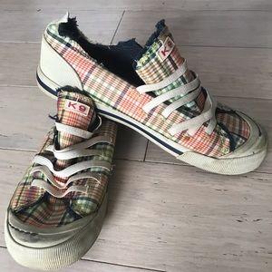 K9 plaid shoes